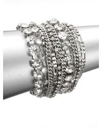 ABS By Allen Schwartz - Multi-row Link Chain Bracelet - Lyst