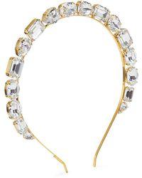 Lelet Jules Swarovski Crystal Headband - Metallic