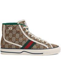 Gucci Gucci Tennis 1977 High-top Sneakers - Multicolor