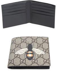 Gucci   Gg Bee Billfold Wallet   Lyst