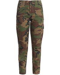 Hudson Jeans Classic Camo Cargo Pants - Green