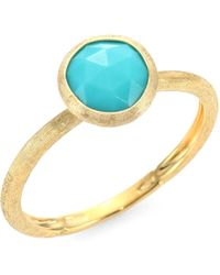 Marco Bicego - Jaipur Turquoise & 18k Yellow Gold Ring - Lyst