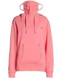 Juicy Couture Terry Mask Hoodie - Pink