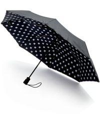 Saks Fifth Avenue Logo Umbrella - Black