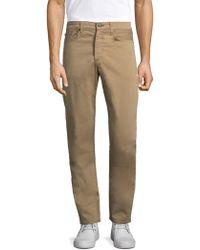 Rag & Bone - Cotton Trousers - Lyst