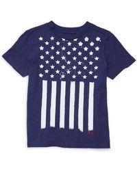 Ralph Lauren - Little Boy's Stars & Stripes Cotton T-shirt - Lyst