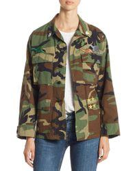 Harvey Faircloth - Camo Vintage Cotton Jacket - Lyst