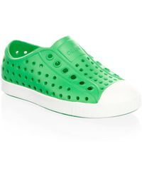 Native Shoes - Kid's Jefferson Perforated Trainers - Lyst
