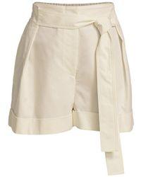 3.1 Phillip Lim Tie-waist Shorts - Multicolor