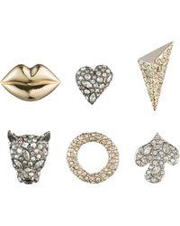 Alexis Bittar - Earring Capsule Six-piece Jada Stud Earring Set - Lyst