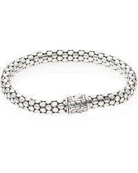 John Hardy - Dot Sterling Silver Small Chain Bracelet - Lyst