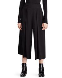 Polo Ralph Lauren | Cropped Wide-leg Pants | Lyst