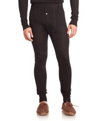 Hanro - Light Merino Wool & Silk Long Leg Layering Pants - Lyst