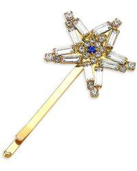 Rosantica Crystal Star Hair Pin - Metallic