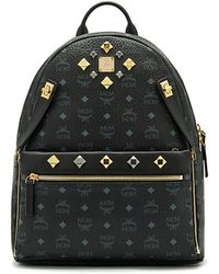 MCM - Dual Stark Coated Canvas Backpack - Lyst