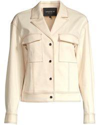 Lafayette 148 New York Theodosia Denim Jacket - Natural