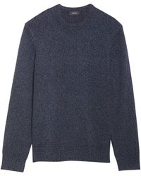 Theory Hilles Cashmere Sweater - Blue