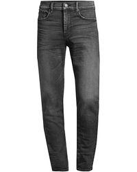 Hudson Jeans Zack Skinny Jeans - Gray