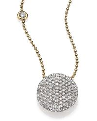 Phillips House Affair Diamond & 14k Yellow Gold Infinity Bezel-accent Necklace - Metallic