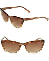 Colors In Optics - Brickell Square Plastic Sunglasses Tortoise Fade - Lyst