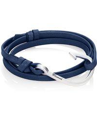 Miansai - Hook Leather Wrap Bracelet - Lyst