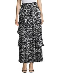 Delfi Collective | Demi Pleated Polka Dot Skirt | Lyst