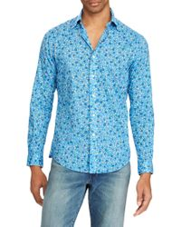 Polo Ralph Lauren - Poplin Long Sleeve Sport Shirt - Lyst