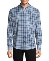 Zachary Prell - Lobban Checkered Button-down Shirt - Lyst