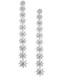 Adriana Orsini - Holiday Ear Crystal Petal Drop Earrings - Lyst