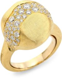 Marco Bicego - Africa 18k Yellow Gold Diamond Ring - Lyst