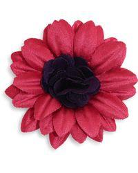 Hook + Albert - Woven Lapel Flower - Lyst