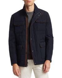 Saks Fifth Avenue - Collection Quilted Car Coat - Lyst