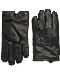Polo Ralph Lauren - Classic Cashmere-lined Leather Gloves - Lyst