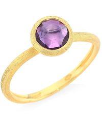 Marco Bicego - Jaipur 18k Yellow Gold & Amethyst Ring - Lyst