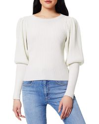 Ramy Brook Angie Wool & Cashmere Blouson-sleeve Knit Sweater - Multicolor