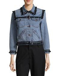 Marc Jacobs   Shrunken Pom-pom Jacket   Lyst