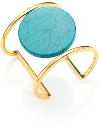 Nest - Disco Turquoise Cuff Bracelet - Lyst
