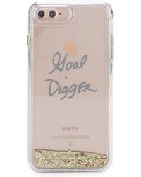 Rebecca Minkoff - Glitterfall Goal Digger Iphone 7 Plus Case - Lyst