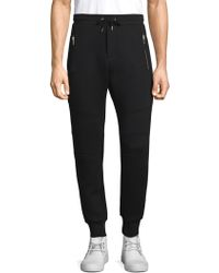 The Kooples - Panelled Drawstring Joggers - Lyst
