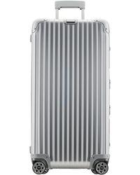 Rimowa Topas 70 Case 9 Suitcase - Metallic