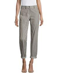 Lafayette 148 New York - Fulton Stripe Trousers - Lyst