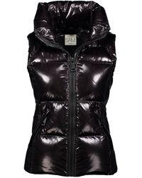 Sam. Freedom Down Puffer Vest - Black