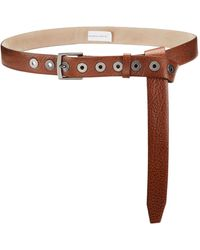 Brunello Cucinelli Leather Belt - Brown