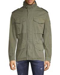 Belstaff - Packable Hooded Jacket - Lyst