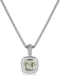 David Yurman - Petite Albion Pendant Necklace With Diamonds - Lyst
