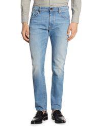 Luciano Barbera - Medium Denim Wash Jeans - Lyst