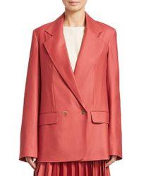 The Row - Spreyley Wool Jacket - Lyst