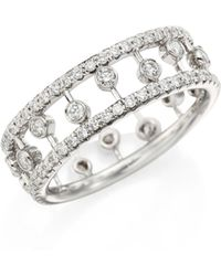 De Beers - Dewdrop Diamond & 18k White Gold Ring - Lyst