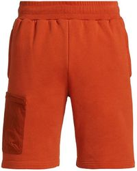 A_COLD_WALL* Logo Embroidered Shorts - Orange