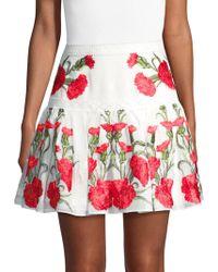 Alexis - Beda Floral Skirt - Lyst
